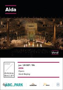 2. AIDA - Opera <br> ABC PARK 28 Sep. y en ABC ELX el 5 Oct.