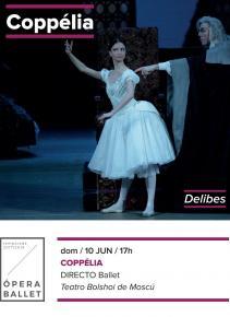 5. COPPELIA - Ballet en Directo <bR> Do. 10 Jun. en ABC PARK y ABC ELX