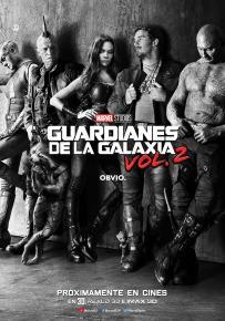 GUARDIANES DE LA GALAXIA VOL. 2 <br> Estreno 28 de Abril